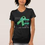 Abuela - cinta del cáncer de hígado camisetas