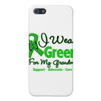 Abuela - cinta verde de la conciencia iPhone 5 funda