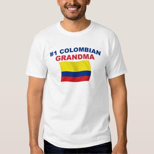 Abuela colombiana #1 poleras