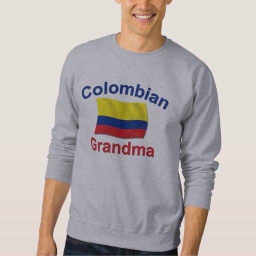 Abuela colombiana sudadera