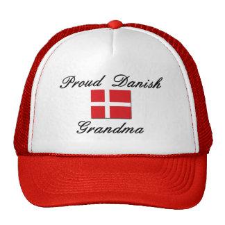 Abuela danesa orgullosa gorro de camionero