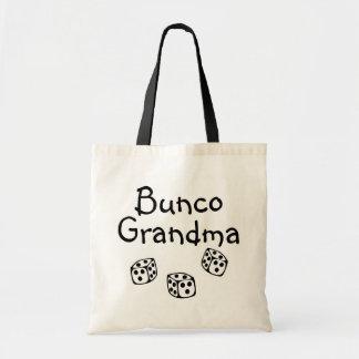 Abuela de Bunco Bolsa Lienzo
