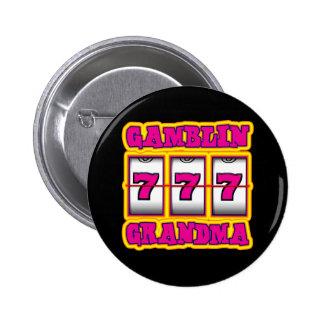 ABUELA DE GAMBLIN PIN REDONDO DE 2 PULGADAS