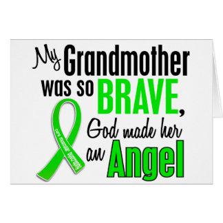 Abuela de la distrofia muscular del ángel 1 tarjeta