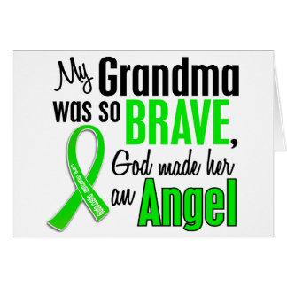 Abuela de la distrofia muscular del ángel 1 felicitacion
