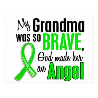 Abuela de la distrofia muscular del ángel 1 tarjetas postales
