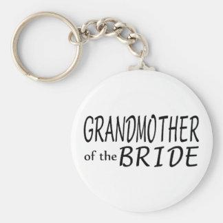 Abuela de la novia llavero redondo tipo pin