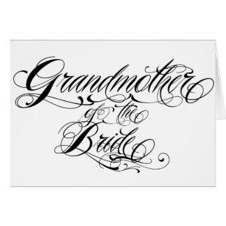abuela de la novia felicitación