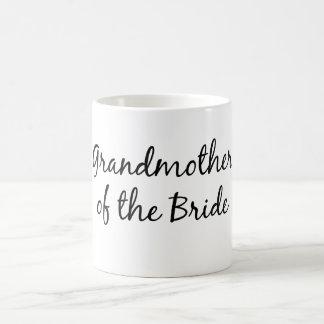 Abuela de la taza de la novia