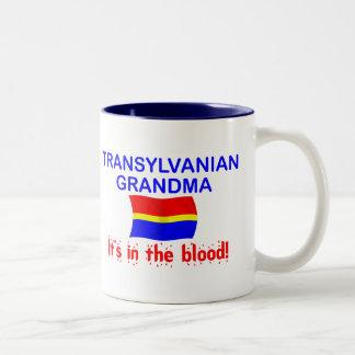 Abuela de Transylvanian - sangre Taza De Café De Dos Colores