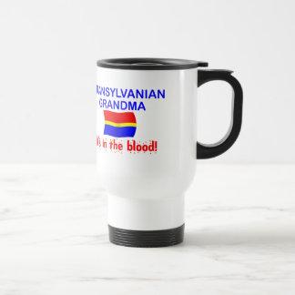 Abuela de Transylvanian - sangre Taza De Viaje