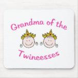 Abuela de Twincess Tapete De Ratones