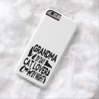 Abuela del amante del gato funda para iPhone 6 barely there