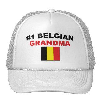 Abuela del belga #1 gorro de camionero
