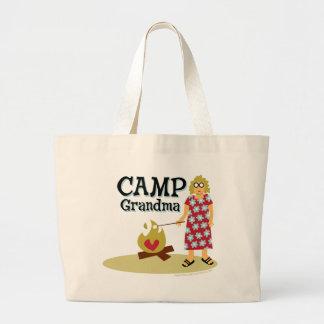 Abuela del campo - cómoda bolsa tela grande