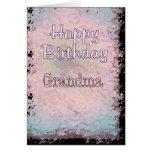 Abuela del feliz cumpleaños felicitaciones