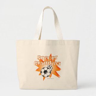 Abuela del fútbol bolsa tela grande