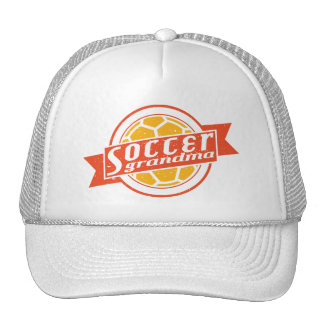 Abuela del fútbol gorras de camionero