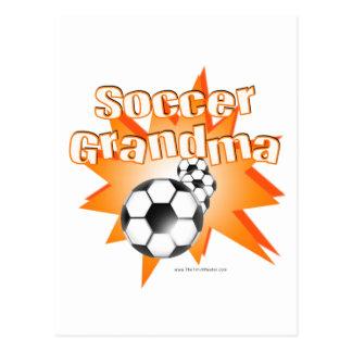 Abuela del fútbol postal