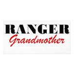Abuela del guardabosques tarjeta personal