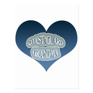 Abuela del guardacostas tarjeta postal