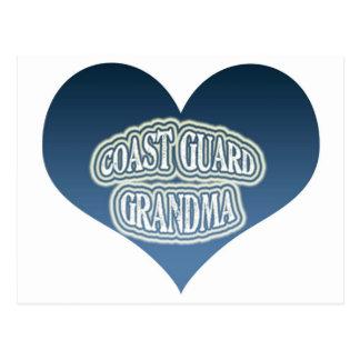 Abuela del guardacostas tarjetas postales