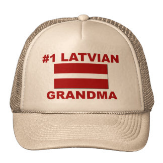 Abuela del Latvian #1 Gorra