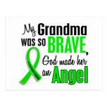 Abuela del linfoma Non-Hodgkin del ángel 1 Postal