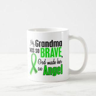 Abuela del linfoma Non-Hodgkin del ángel 1 Tazas