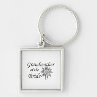 Abuela del llavero del cuadrado de la novia