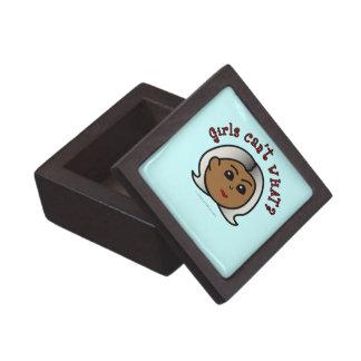 Abuela del logotipo - oscuridad cajas de recuerdo de calidad