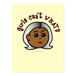 Abuela del logotipo - oscuridad tarjetas postales