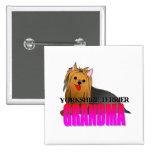 Abuela del perro de Yorkshire Terrier Pin