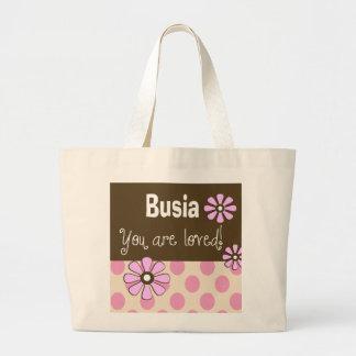 Abuela del polaco de la bolsa de asas de Busia