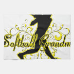 Abuela del softball (silueta) .png toallas