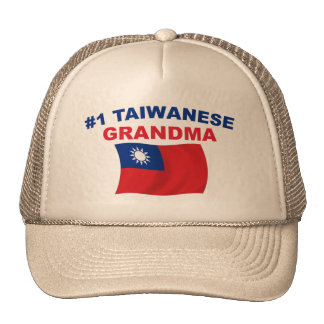 Abuela del taiwanés #1 gorros