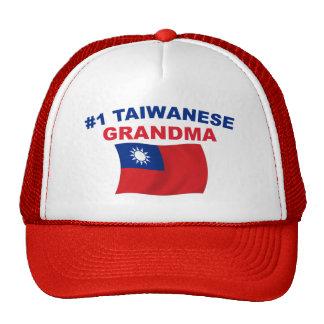 Abuela del taiwanés #1 gorras
