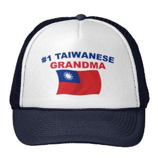 Abuela del taiwanés #1 gorro de camionero