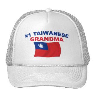 Abuela del taiwanés #1 gorras de camionero