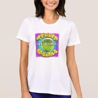 abuela del tenis…. camisetas