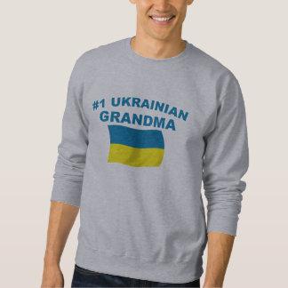 Abuela del ucraniano #1 sudaderas encapuchadas
