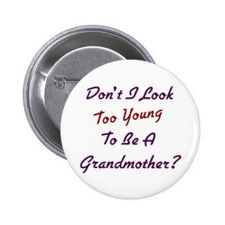 Abuela demasiado joven pins