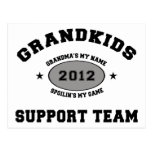 Abuela divertida 2012 de los Grandkids Tarjetas Postales