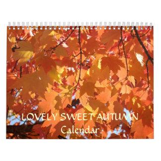 Abuela DULCE PRECIOSA de los regalos de vacaciones Calendarios De Pared