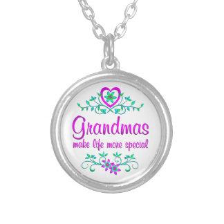 Abuela especial colgante redondo