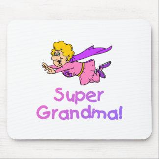 Abuela estupenda (vuelo) mouse pad