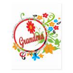 Abuela fantástica tarjeta postal