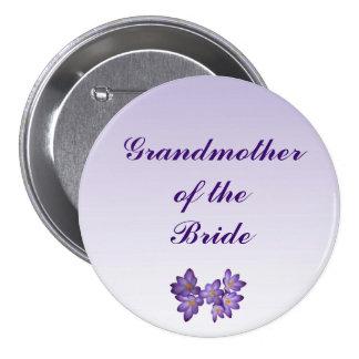 Abuela floral de la primavera púrpura del Pin de l