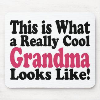 Abuela fresca mouse pad