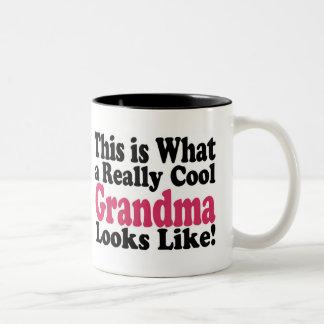 Abuela fresca taza de café